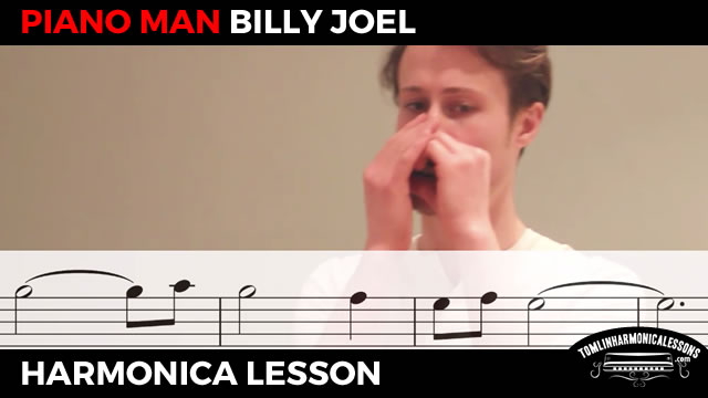 Harmonica harmonica chords piano man : How to play Piano Man by Billy Joel on a C harmonica for beginners ...