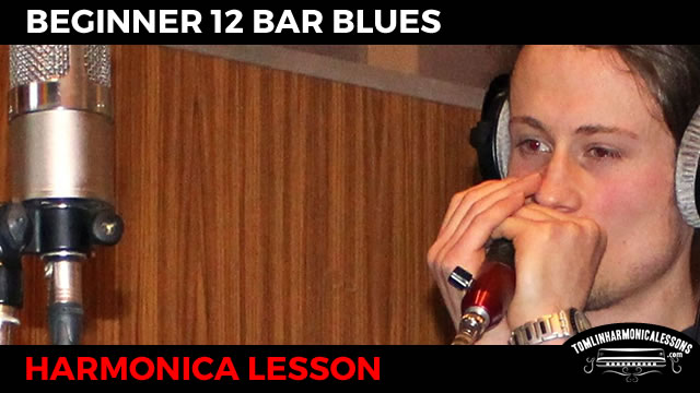 Harmonica blues harmonica tabs in c : Beginner Harmonica 12 Bar Blues - C Harmonica Lesson + Free harp ...