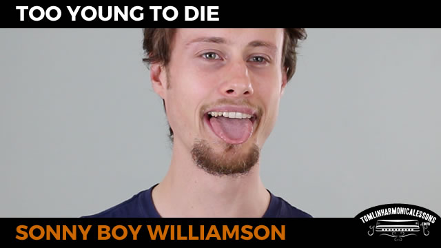 Too Young To Die By Sonny Boy Williamson Blues Harmonica Lesson On G