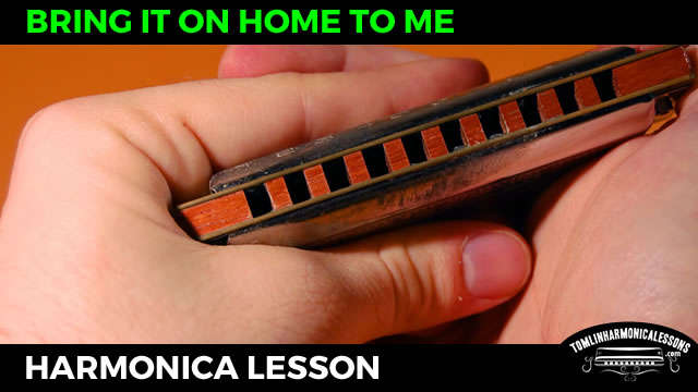 Bring It On Home To Me - Sonny Terry Blues Harmonica Lesson on A