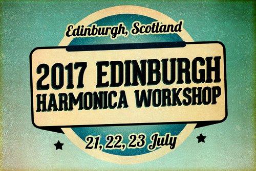 2017 Edinburgh Harmonica Workshop 21,22,23 July